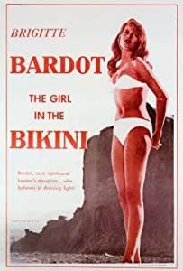 The Girl in The Bikini Póster de la película (- 27 x 101,6 cm 69 cm x 102  cm) (1952) - (Brigitte Bardot) (Jean-François Calvé) (Howard Vernon)  (Espanita Cortez): Amazon.es: Hogar
