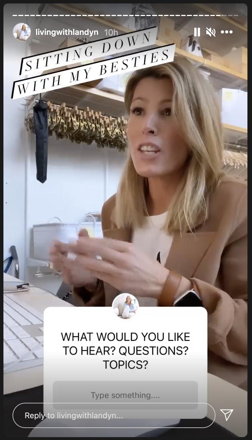 question sticker on Instagram