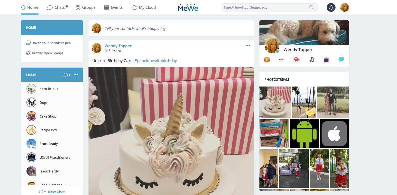 Is building a Facebook alternative worth the effort? MeWe thinks so |  VentureBeat