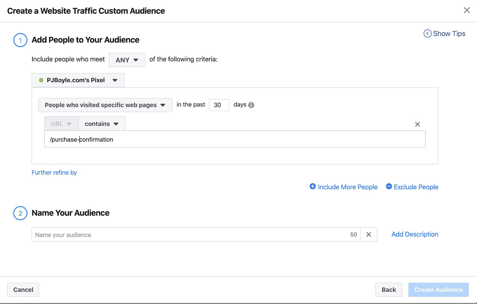 Facebook ads custom audience lookalike