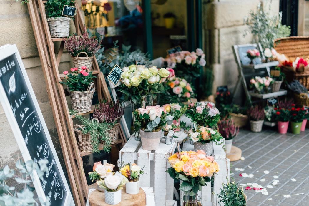 Aesthetically pleasing flower shop