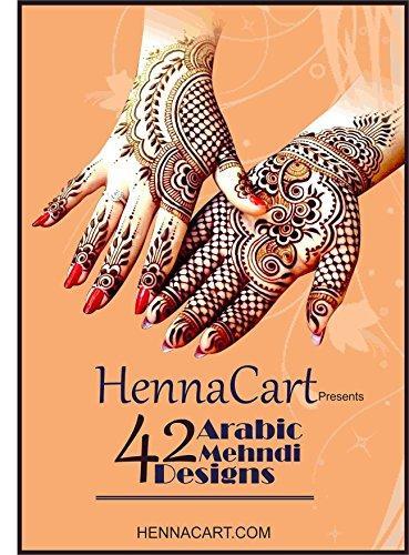 Arabic henna tattoo design