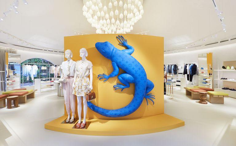 Pop up store di Louis Vuitton al Forte Village