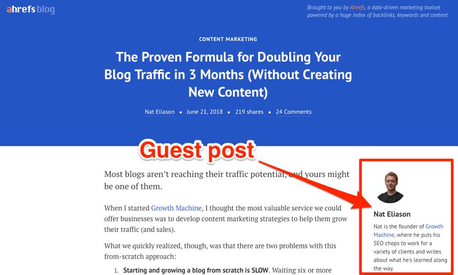 Guest Blogging: One of the best inbound marketing strategies