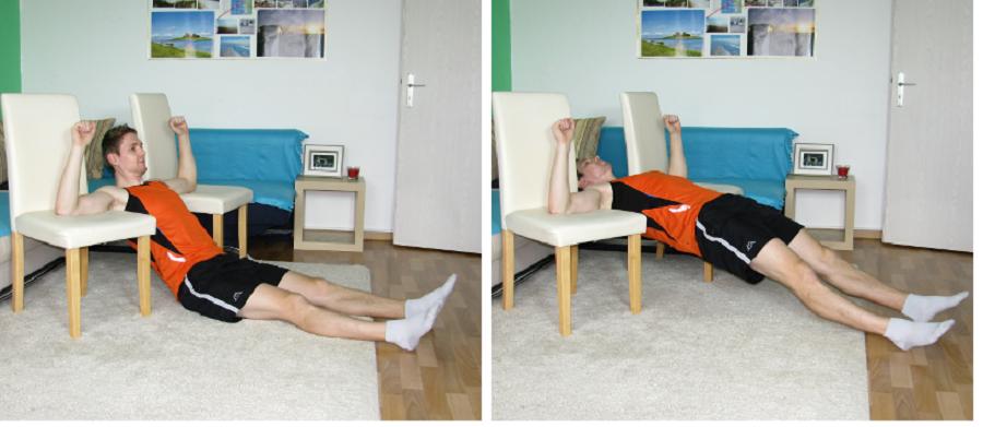 cách tập xô lưng tại nhà