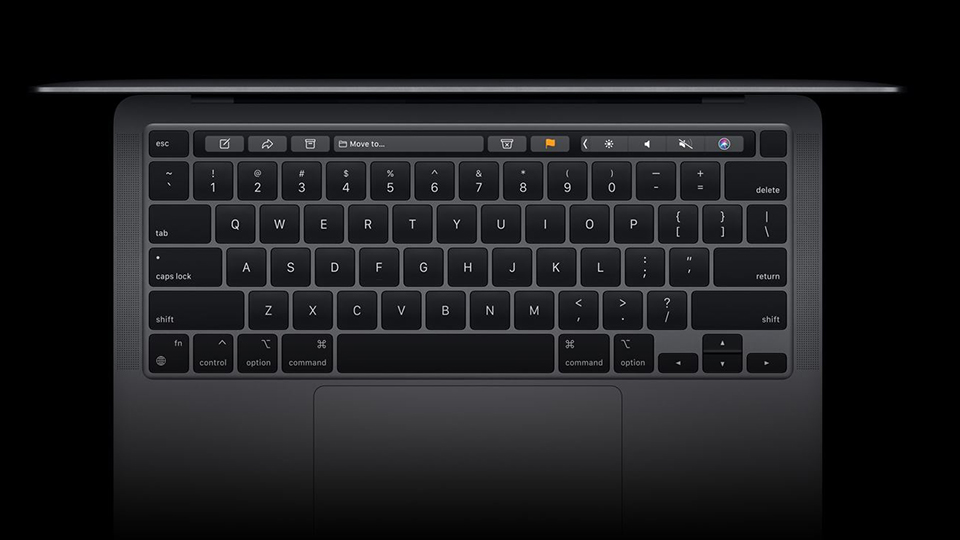 bàn phím MacBook Pro 13 2020 Touch Bar M1