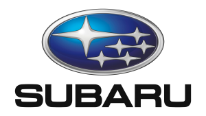 Android Auto Compatible car featuring Subaru logo