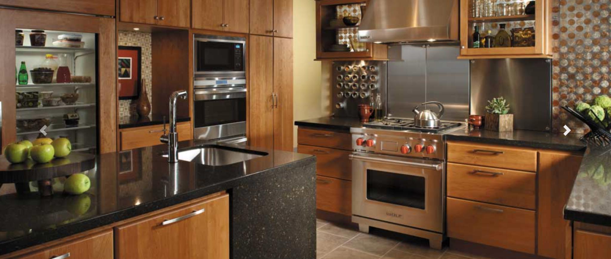 StarMark Cabinetry for kitchen redesign, Johnson Lumber, Maryland Kitchen Design