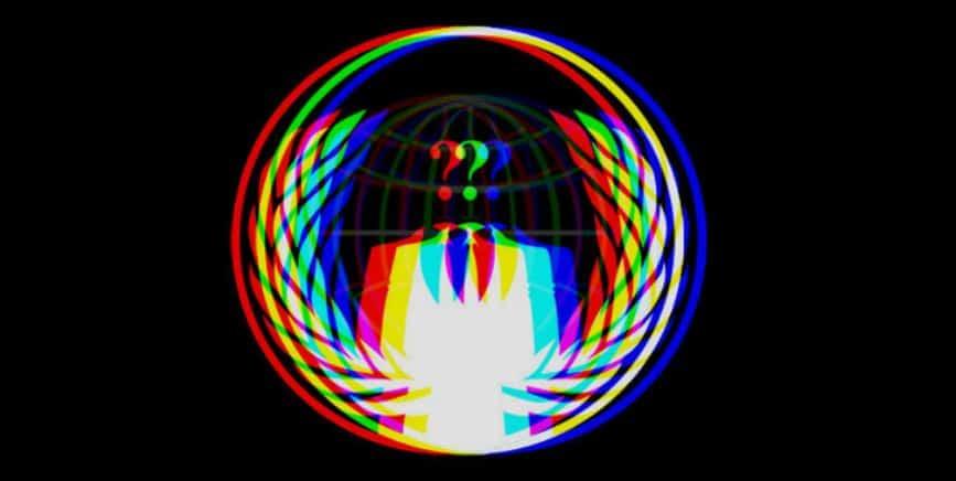 Anonymous logo do Fundo Desconhecido para doações