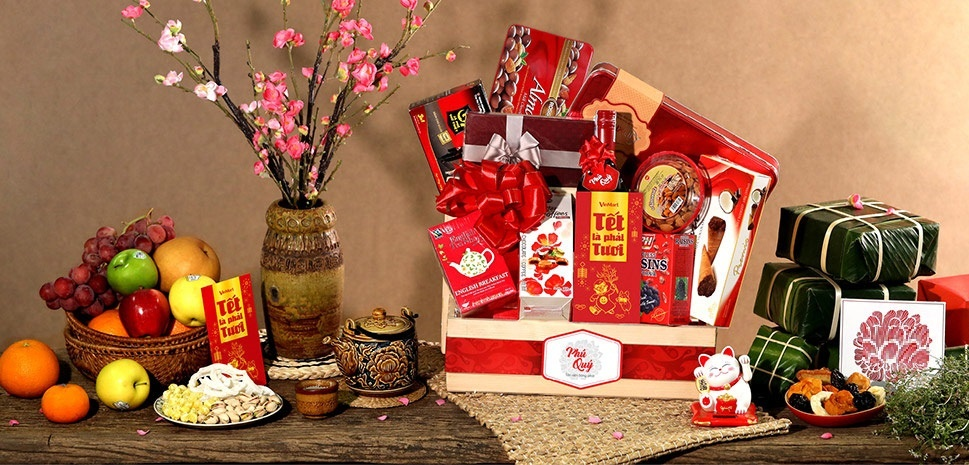Giỏ quà tết tại Hà Nội