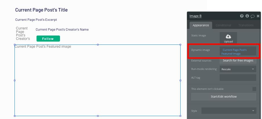 Bubble Dynamic Post Image in Medium Clone App Tutorial