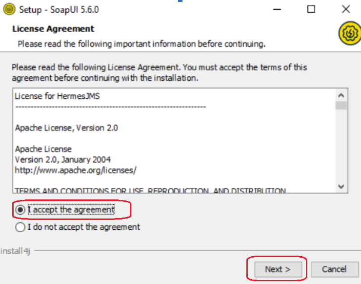 SoapUI License Agreement
