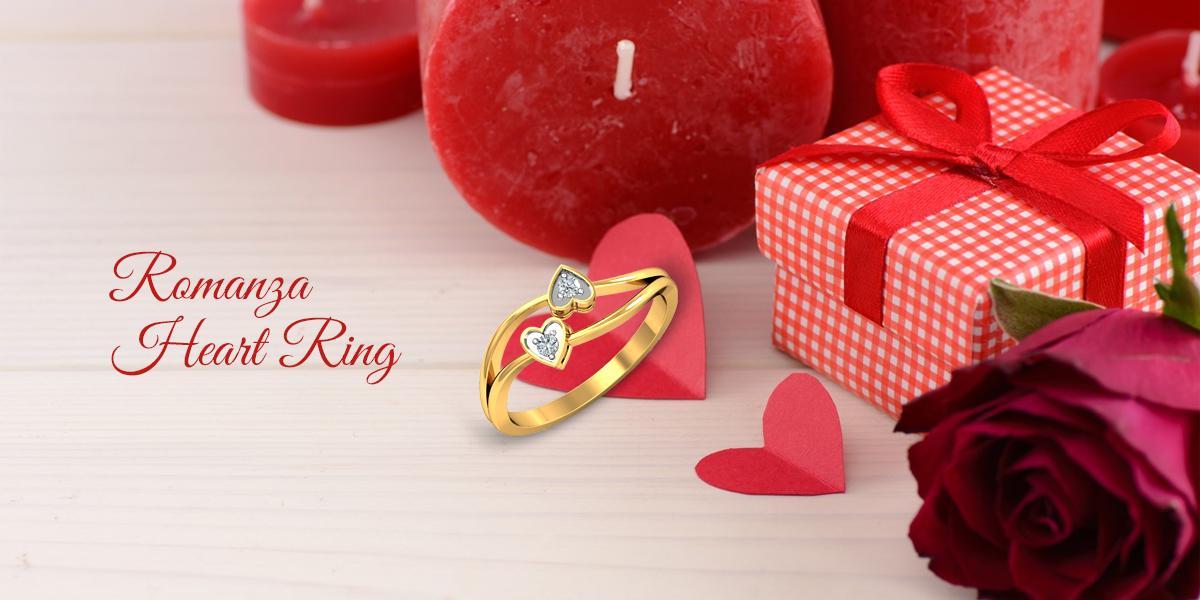 romanza heart ring