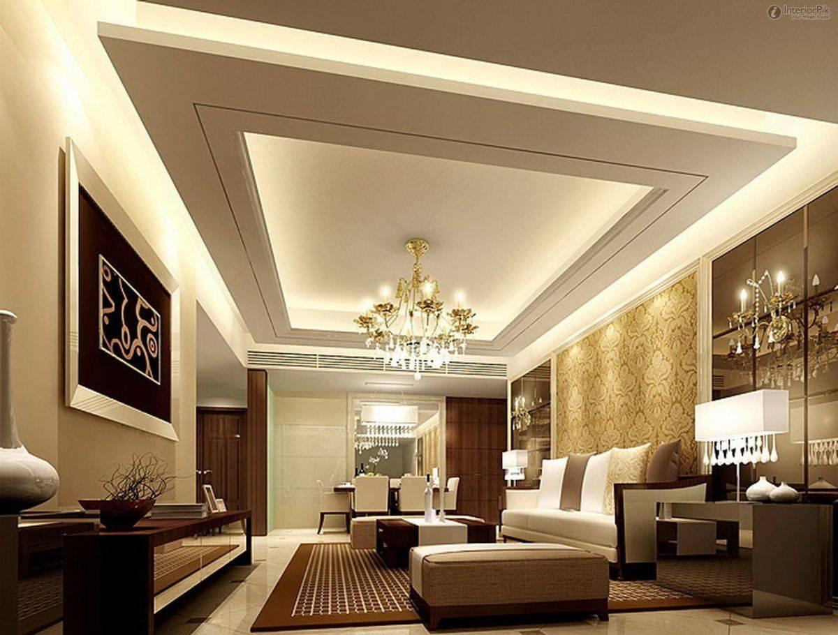 Trần thạch cao mang đến vẻ đẹp sang trọng cho phòng khách