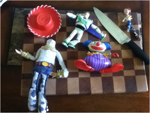 Winning NFL Picks Leads to Toy Story Decapitation