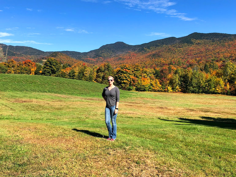 Smugglers notch, vermont, fall, leaves, travel