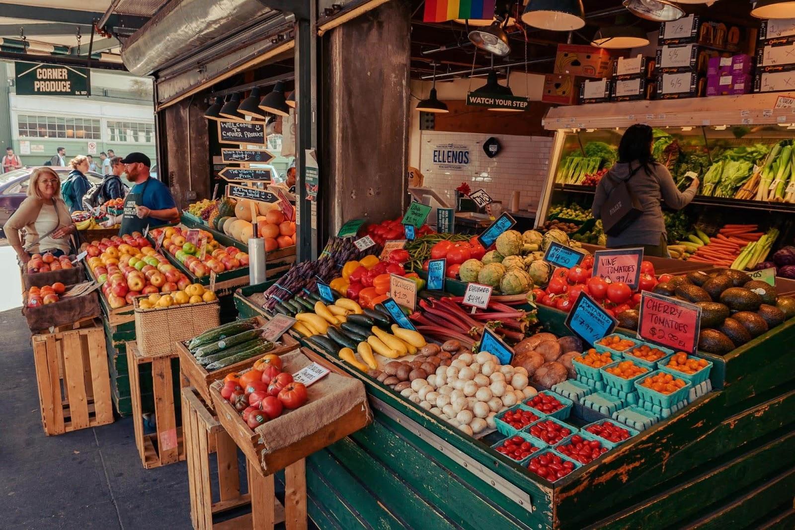 Правила покупки продуктов на рынке