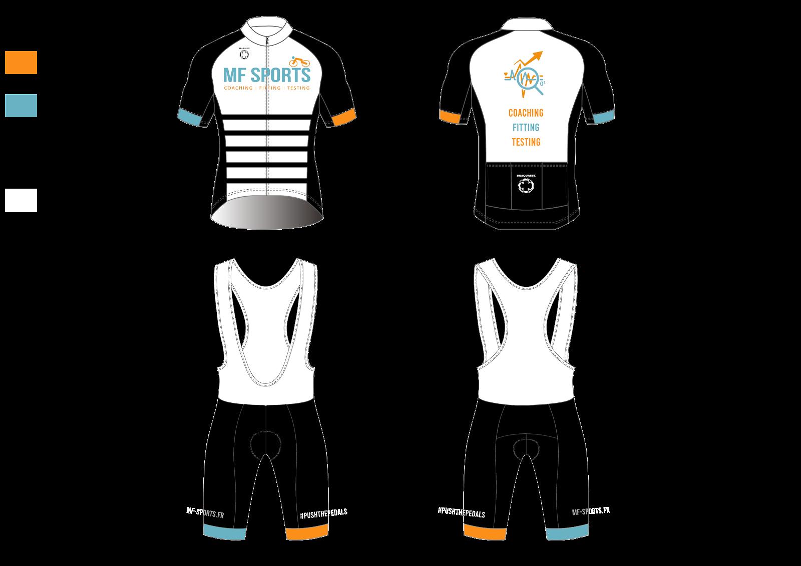 Boutique spécialisée dans la création de tenues cyclistes personnalisées