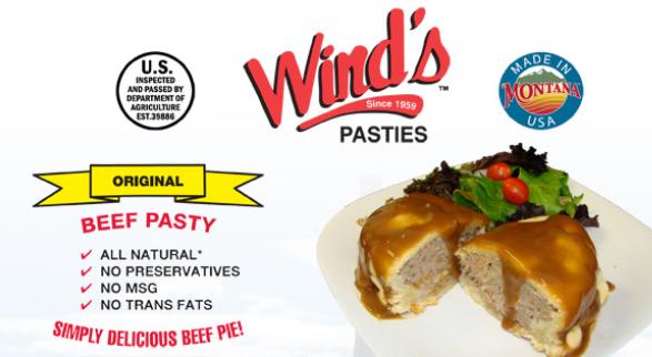 Wind's Pasties Logo