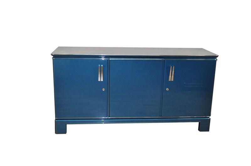 Art Deco sideboard in classic blue