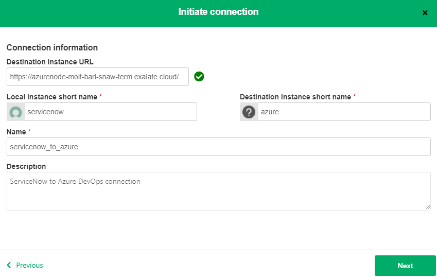 connecting azure devops and servicenow