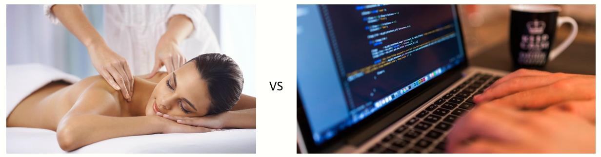 Coding và Massage