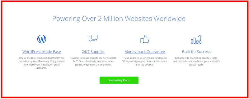 Bluehost: Web Hosting Review Features