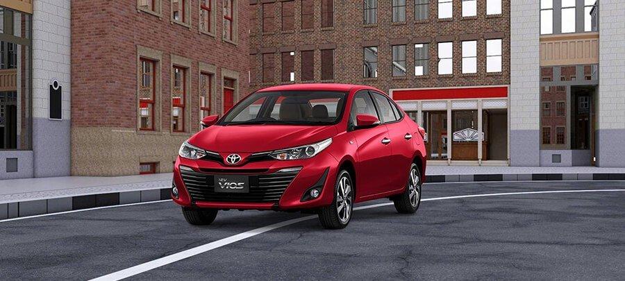 Overview Mobil: Mobil Toyota Vios G CVT menarik yang memiliki harga Rp343,650 - 308,750 01