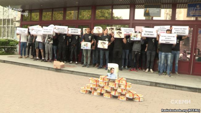 Протест під НАБУ згодом переріс у штурм будівлі