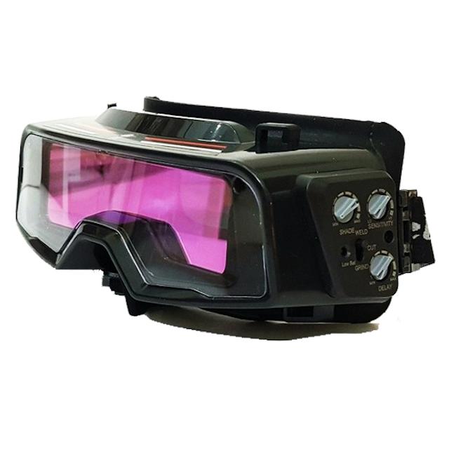 Kính hàn điện tử giúp thợ hàn bảo vệ mắt hiệu quả