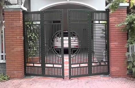 Cổng đóng mở tự động âm sàn