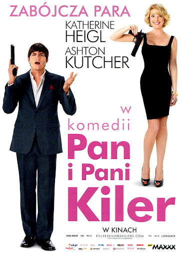 Przód ulotki filmu 'Pan i Pani Killer'