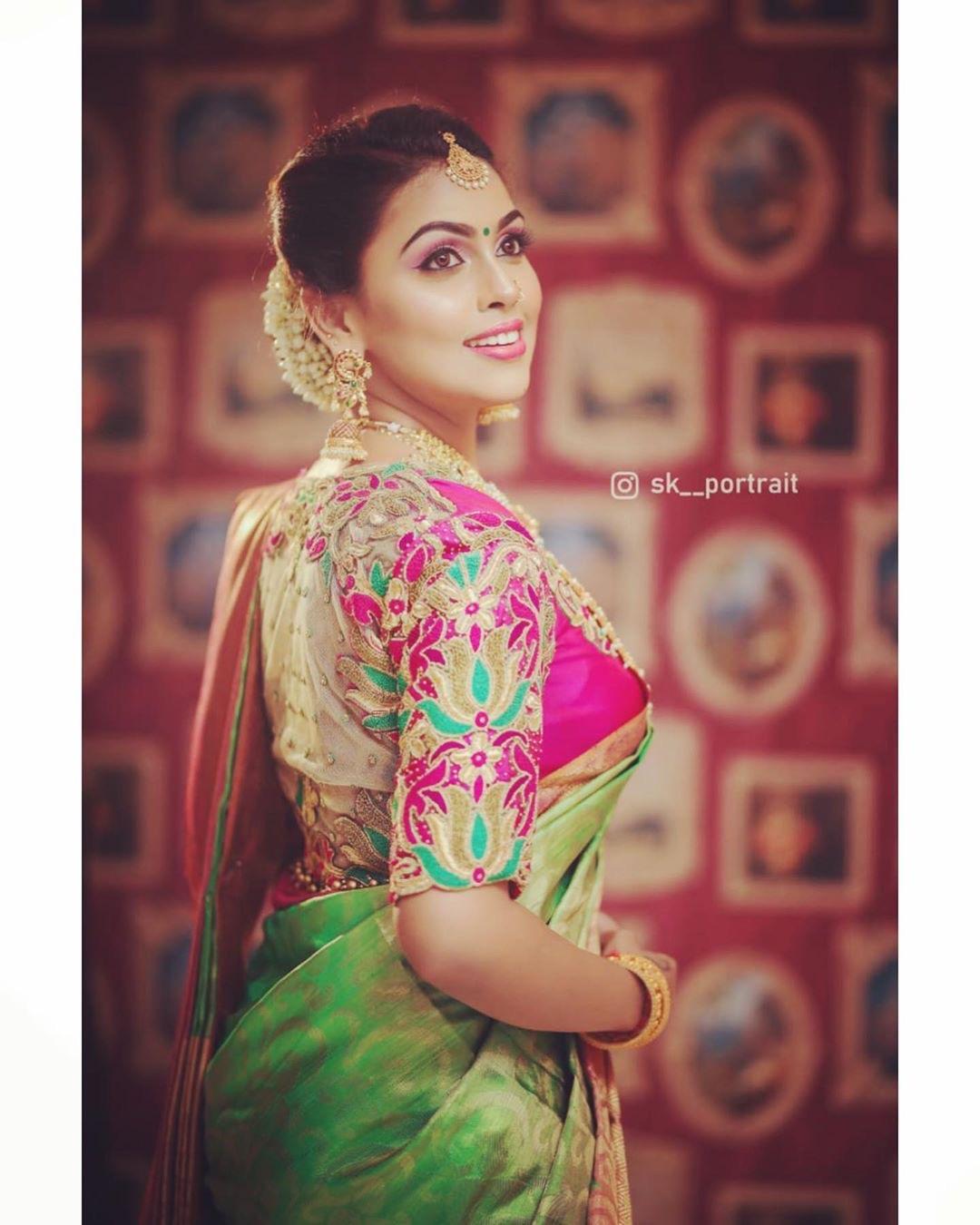 100 Designer blouse ideas   Indian saree blouses designs, Blouse designs silk, Saree blouse designs. Actress Trend