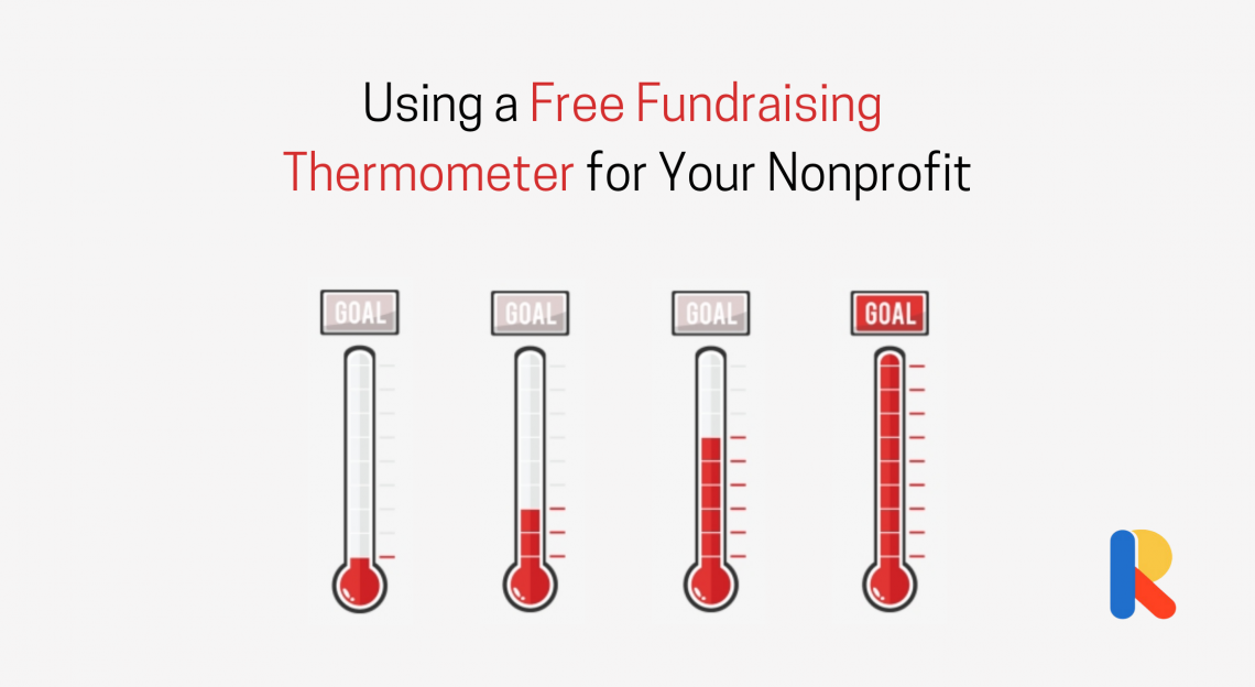 Free fundraising thermometer for nonprofits