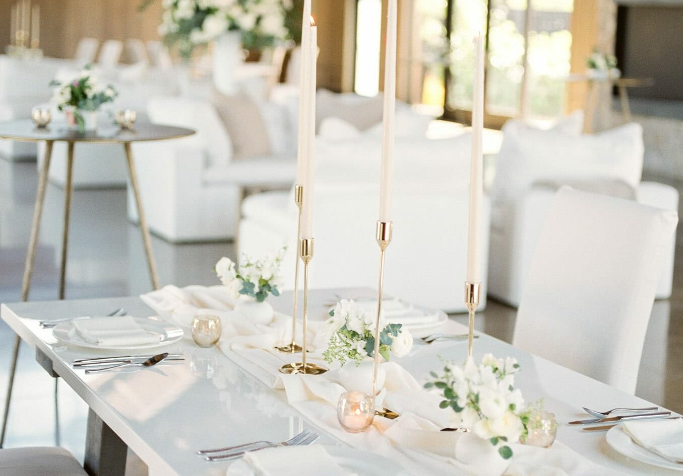 The Estate Yountville Wedding Table