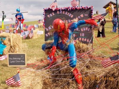 Annual Scarecrow Festival in Cross Creek Ranch Fulshear Texas