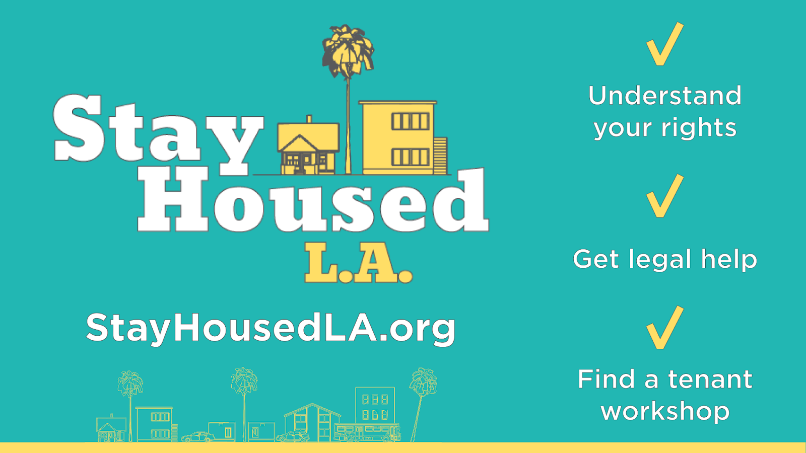 Stay Housed LA information