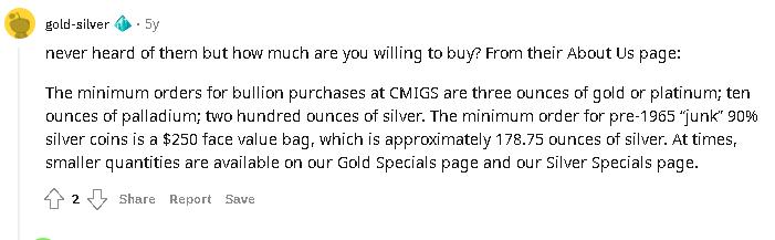 CMI Gold & Silver Inc review