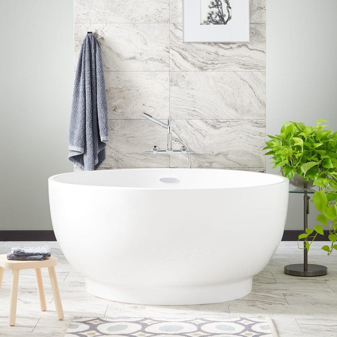 acrylic japanese soaking bathtub