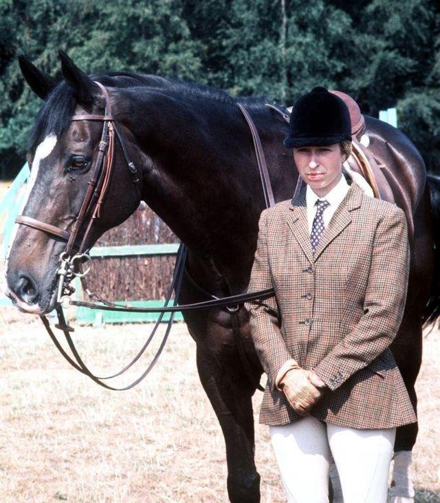 Дочка Філіпа Анна зі своїм конем Гудвілом, Віндзор, 1976 рік