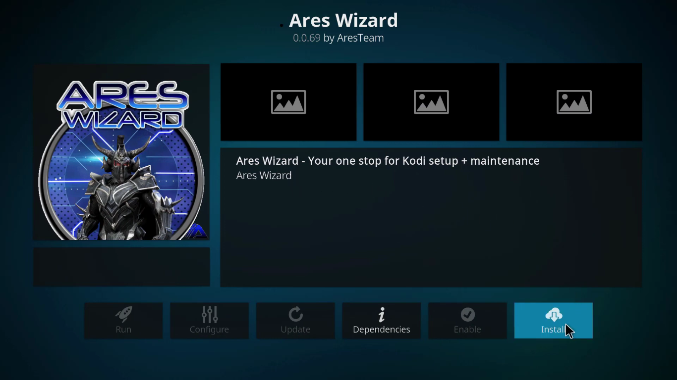 How to Install Ares Wizard on Kodi 10