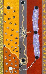 http://www.aboriginalartstore.com.au/aboriginal-art-culture/aboriginal-symbols-and-their-m.php