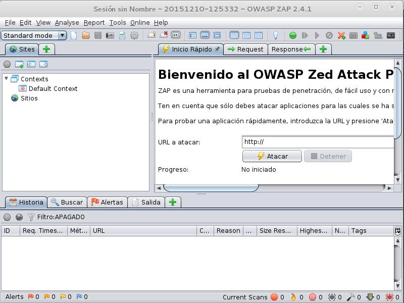 Resultado de imagen para owasp zap