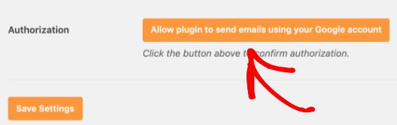 Autorizar complemento para enviar correos electrónicos con Gmail