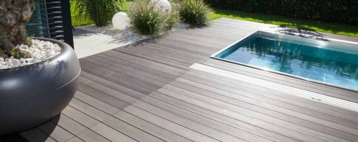 options for pool decking