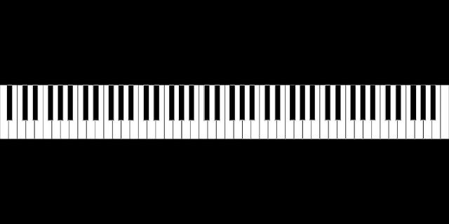 Keyboard, Piano, Musik, Suara,