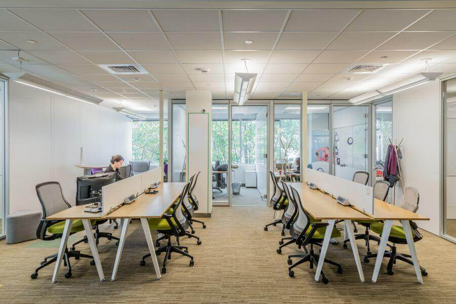 Chọn văn phòng cho thuê thế nào mới giúp nhân viên nhiều năng lượng?