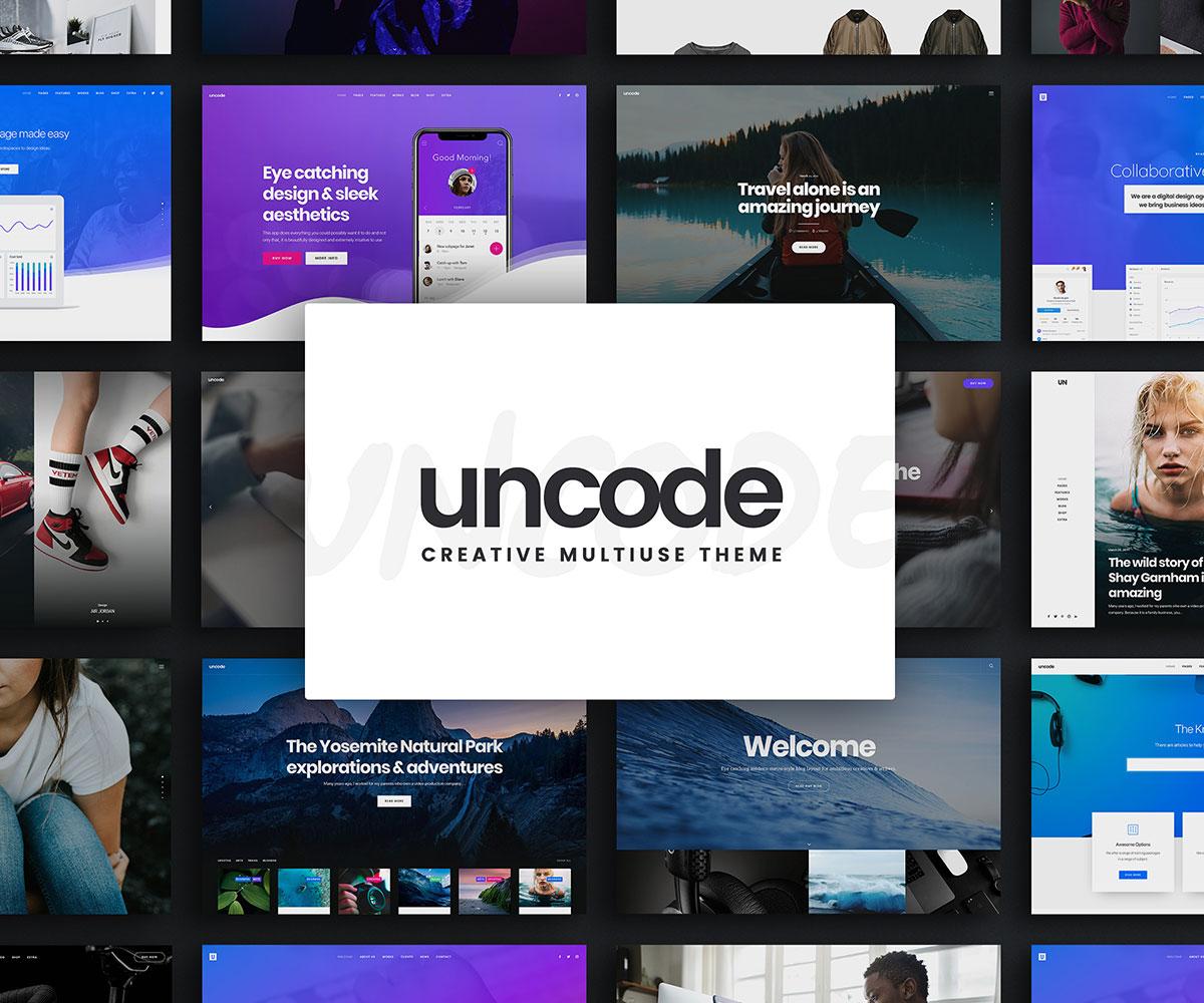 Wordpress ecommerce themes uncode