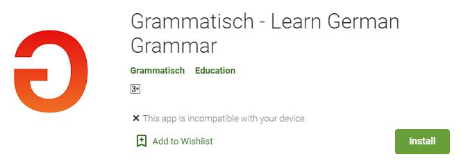 Grammatisch app