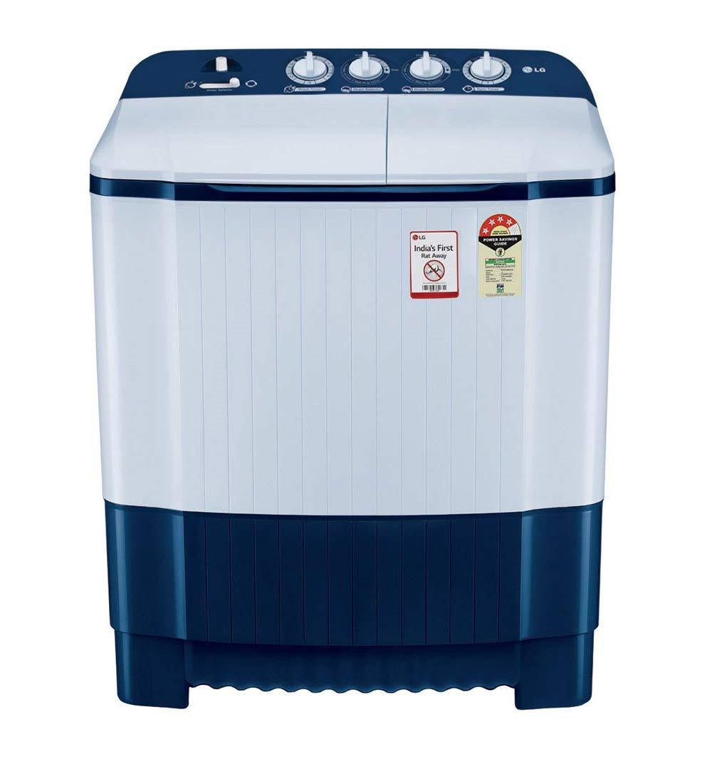 LG 6.5 Kg P6510NBAY Semi-Automatic Washing Machine